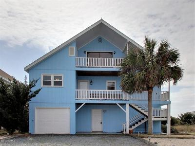 Holden Beach Single Family Home For Sale: 177 Ocean Boulevard W