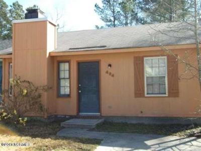 Jacksonville Rental For Rent: 404 Cedar Creek Drive