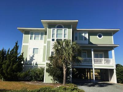 Holden Beach Single Family Home For Sale: 644 Ocean Boulevard W