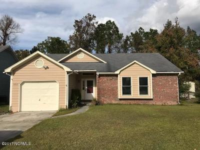Onslow County Single Family Home For Sale: 2662 Idlebrook Circle