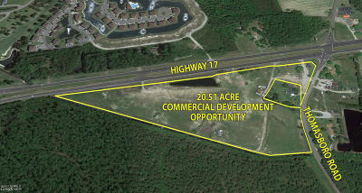 Brunswick County Commercial For Sale: 8725 Ocean Highway W