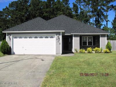 Jacksonville Single Family Home For Sale: 205 Ivy Glen Lane