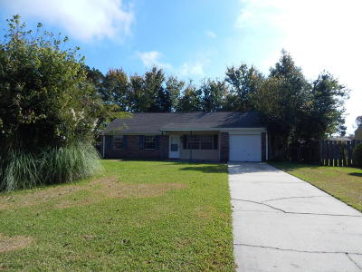 Jacksonville Single Family Home Active Contingent: 415 Cedar Court