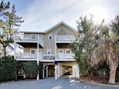 Holden Beach Single Family Home For Sale: 1109 Ocean Boulevard W