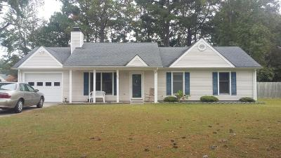Morehead City Single Family Home For Sale: 806 N Gate Road