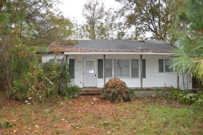 Edgecombe County Single Family Home For Sale: 9813 Nc 42