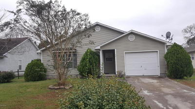 Onslow County Single Family Home Active Contingent: 426 Boysenberry Lane