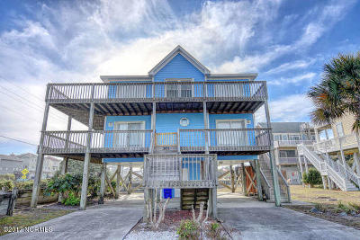 North Topsail Beach, Surf City, Topsail Beach Single Family Home For Sale: 301 Lanterna Lane