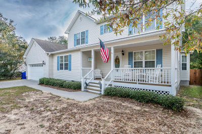 Oak Island NC Single Family Home For Sale: $375,000