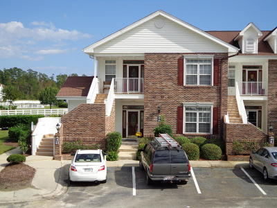 Calabash Condo/Townhouse For Sale: 8855 Radcliff Drive NW #4d