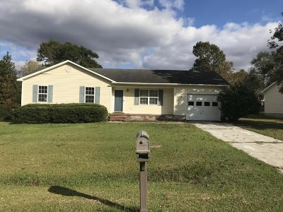 Jacksonville Single Family Home For Sale: 217 S Creek Drive