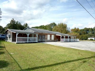 Beaufort Single Family Home For Sale: 2361 Nc Highway 101