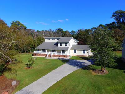 Morehead City Single Family Home For Sale: 103 Phillips Landing Drive
