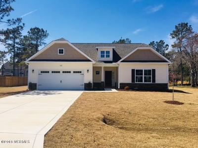 Sneads Ferry Single Family Home For Sale: 318 Red Cedar Drive #Lot 43