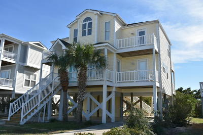 Holden Beach Single Family Home For Sale: 189 Brunswick Avenue W