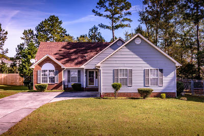 Jacksonville Single Family Home For Sale: 100 Carolina Pines Drive