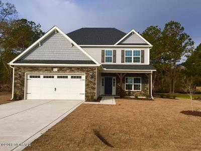Sneads Ferry Single Family Home For Sale: 312 Red Cedar Drive #Lot 40