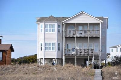 Holden Beach Single Family Home For Sale: 1219 Ocean Boulevard W
