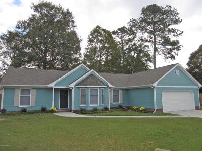 Onslow County Single Family Home For Sale: 214 Brandy Court