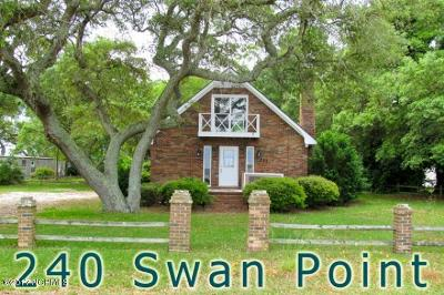 Sneads Ferry Rental For Rent: 240 Swan Point Road