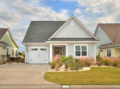 Southport Single Family Home For Sale: 3279 Beach Cove Lane