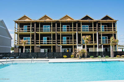 Atlantic Beach Condo/Townhouse For Sale: 2800 W Fort Macon Road #42
