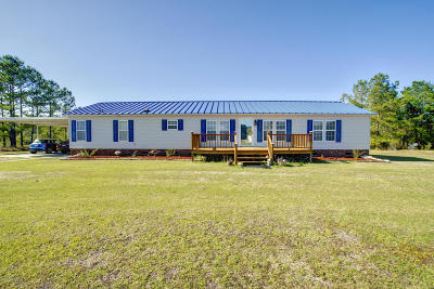 Holly Ridge Single Family Home For Sale: 1289 Nc Highway 172