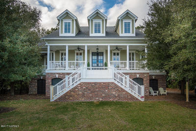 Morehead City Single Family Home For Sale: 151 Camp Morehead Drive