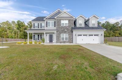 Hubert Single Family Home For Sale: 708 Aria Lane