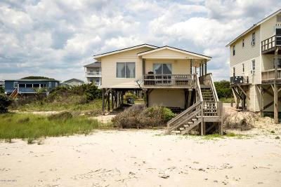 Oak Island Single Family Home For Sale: 3509 E Beach Drive