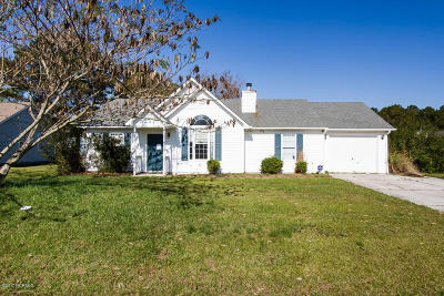 Jacksonville Single Family Home For Sale: 141 Horse Shoe Bend