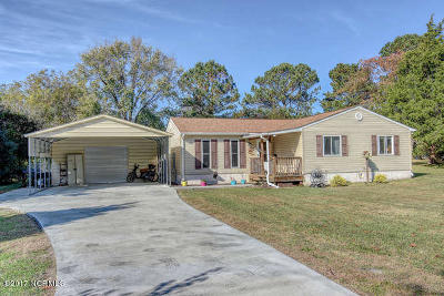 Onslow County Single Family Home For Sale: 1121 N Bryan Road