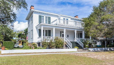 Southport Single Family Home For Sale: 301 E Bay Street