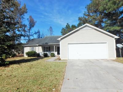 Jacksonville Single Family Home For Sale: 409 Spring Drive