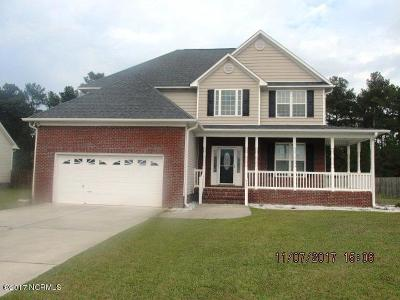 Onslow County Single Family Home For Sale: 917 Stagecoach Drive