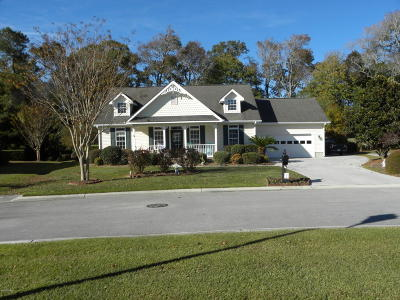 Morehead City Single Family Home For Sale: 105 Cottage Row