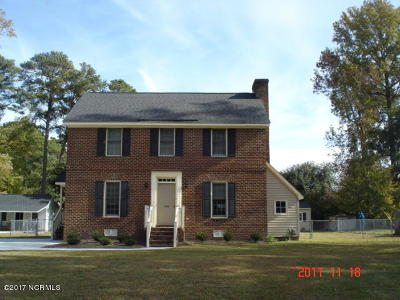 Greenville NC Single Family Home For Sale: $150,000