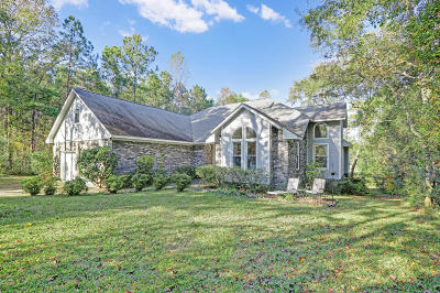 Hampstead Single Family Home For Sale: 629 Hughes Road