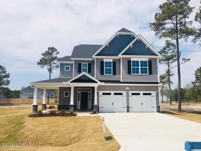 Sneads Ferry Single Family Home For Sale: 633 Prospect Way #Lot 66