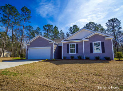 Holly Ridge Single Family Home For Sale: 402 Saxby Way #Lot 50