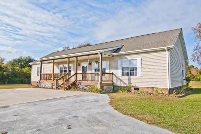 Newport Single Family Home For Sale: 422 Broad Creek Loop Road