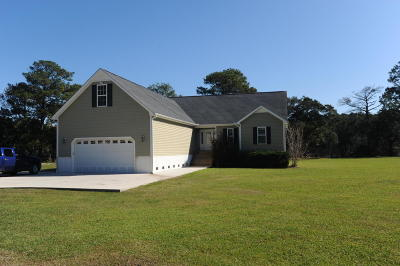 Havelock Single Family Home For Sale: 996 Live Oak Drive