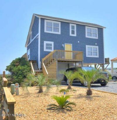 Oak Island Single Family Home For Sale: 701 Ocean Drive