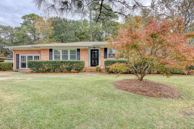 Wilmington Single Family Home For Sale: 4013 Halifax Road