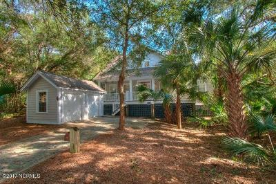 Bald Head Island Single Family Home For Sale: 47 Fort Holmes Trail