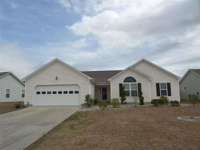 Holly Ridge, Sneads Ferry, Surf City, Topsail Beach Rental For Rent: 238 Red Carnation Drive