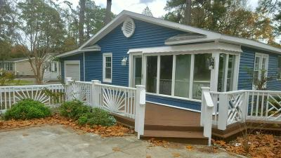 Ocean Isle Beach Single Family Home For Sale: 7280 Joe Brooks Road SW