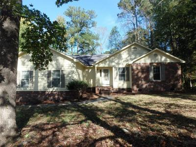 Jacksonville Single Family Home Active Contingent: 142 Dockside Drive