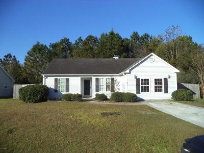 Leland Single Family Home For Sale: 681 Pine Branches Circle SE