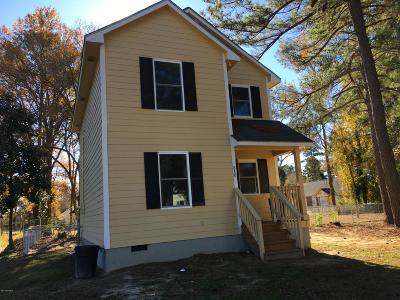 Elm City Single Family Home For Sale: 310 Nash Street